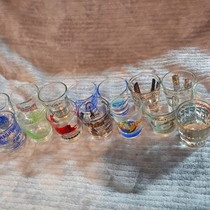 Shot glass 15 lot
